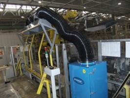 汽车生产线配套工业吸尘器