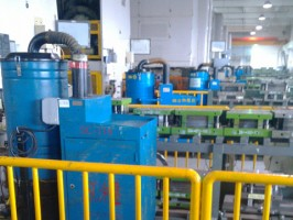 电池行业配套工业吸尘器