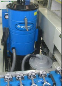 汽车行业配套工业吸尘器
