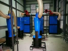 飞机制造行业配套工业吸尘器