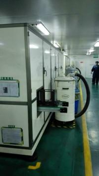 电池行业冲片机配套工业吸尘器