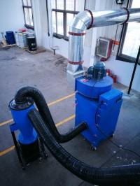 汽车生产厂家粉碎炉固定卸压产生扬尘配套工业吸尘器